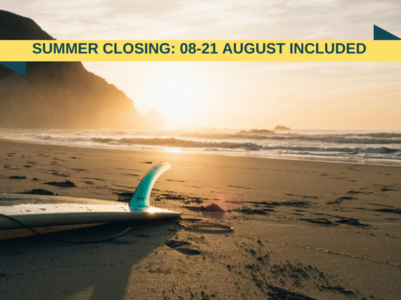 SUMMER CLOSING_ 08-21 AUGUST INCLUDED